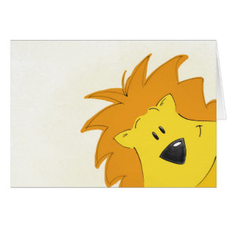 Crawling Through the Jungle: Lally the Lion Card