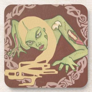 Crawling Zombie Girl Coaster