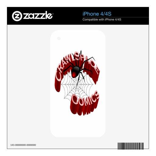CrawlSpace Comics iPhone Skin Skin For The iPhone 4S
