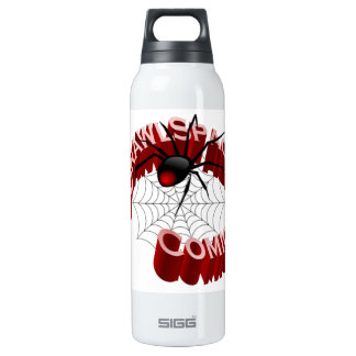 CrawlSpace Comics - White Insulated Water Bottle