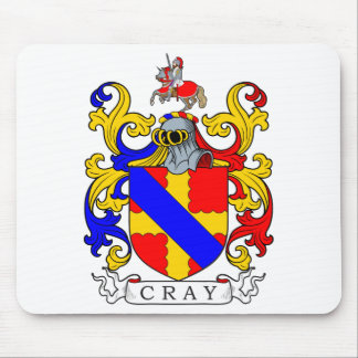 Cray Coat of Arms I Mouse Pad
