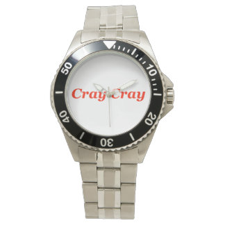 Cray Cray Crazy Going Crazy Nuts! Bull Wild Animal Wrist Watches