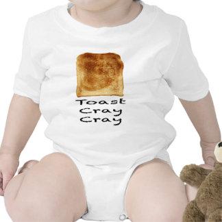 Cray cray de la tostada traje de bebé