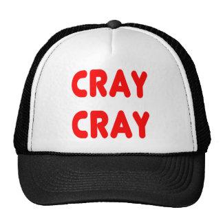 Cray Cray Funny internet Memes Red Trucker Hat