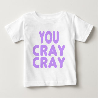 Cray Cray Internet Memes Light Purple Baby T-Shirt
