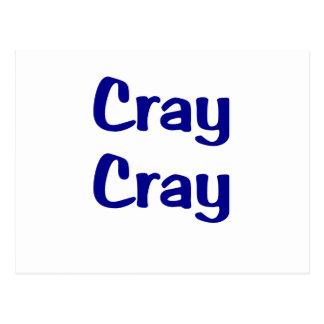 Cray Cray Postcard