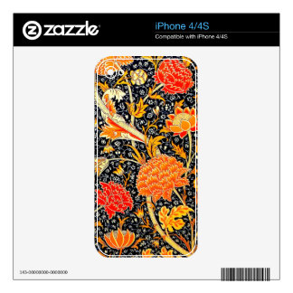 Cray iphone 4/4S skin Skins For iPhone 4S