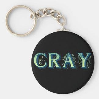 Cray Keychain