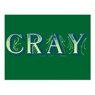Cray Postcard