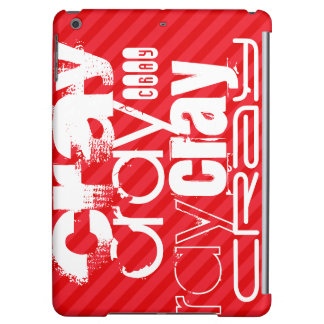 Cray; Scarlet Red Stripes Case For iPad Air