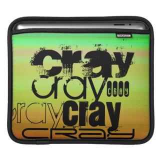 Cray; Vibrant Green, Orange, & Yellow iPad Sleeves