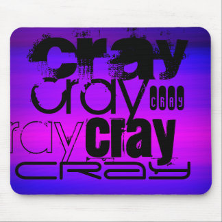 Cray; Vibrant Violet Blue and Magenta Mouse Pad