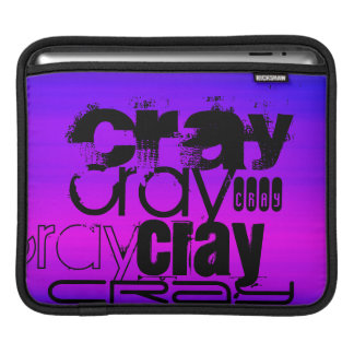 Cray; Vibrant Violet Blue and Magenta Sleeve For iPads