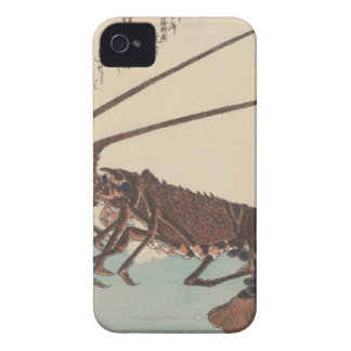 Crayfish and two shrimps by Hiroshige Case-Mate iPhone 4 Case