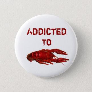 Crayfish/Crawfish/Crawdad Items Pinback Button
