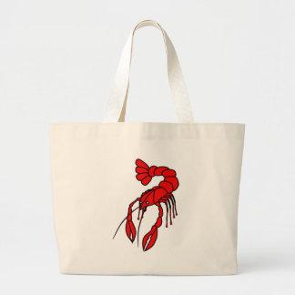 Crayfish Large Tote Bag