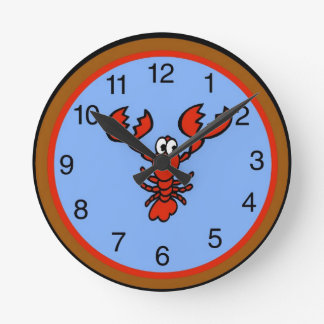Crayfish Lobster Clock