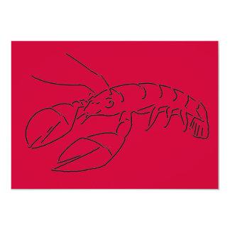 Crayfish Lobster Crawfish Card