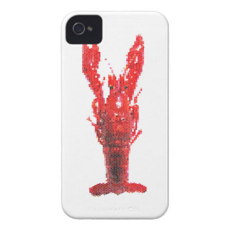 Crayfish Lobster with Knife and Fork iPhone 4 Case-Mate Case