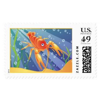 Crayfish Postage Stamps