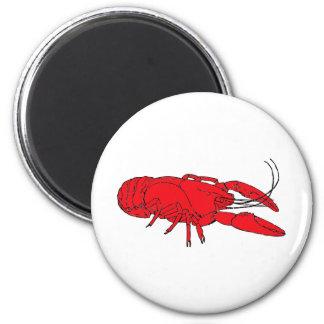 crayfish refrigerator magnet