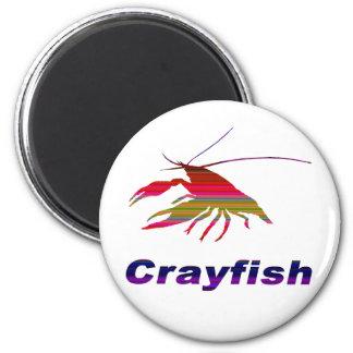 crayfish's silhouette (Gradation) Magnet