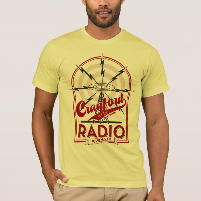 Crayford™ Kent County Radio Weathered T-Shirt