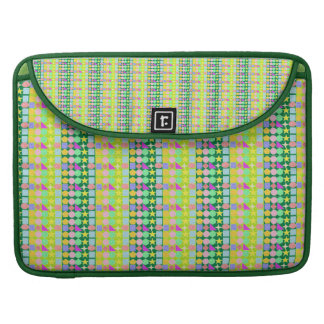 Crayon and shapes pattern for Macbook Pro MacBook Pro Sleeves