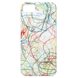 Crayon Art iPhone SE/5/5s Case