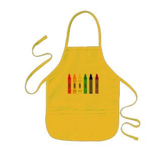 Crayon Artist 1 Apron