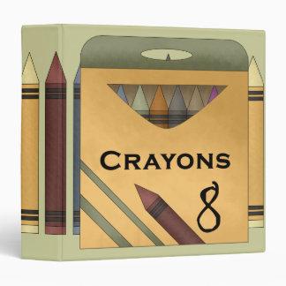 Crayon Artist Avery Binder
