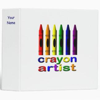 Crayon Artist Binder
