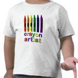 Crayon Artist Toddler T-shirt