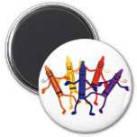 Crayon Birthday Party Magnet