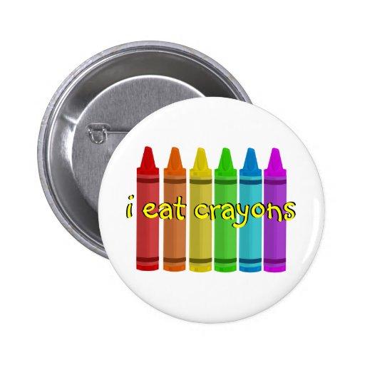 Crayon Button Template