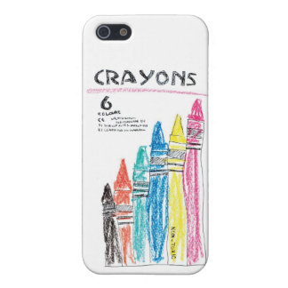 CRAYON CASE FOR iPhone SE/5/5s