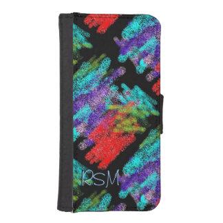 Crayon crazy iPhone SE/5/5s wallet case