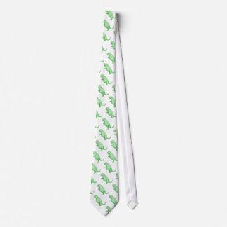 Crayon Dinosaur Neck Tie