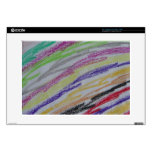 Crayon Drawing Lines Laptop Decal