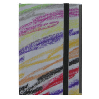 Crayon Drawn Lines Covers For iPad Mini