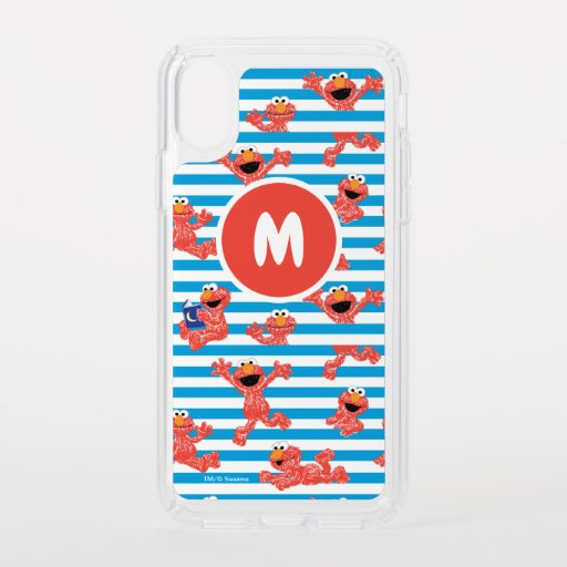Crayon Elmo Stripe Pattern Speck iPhone X Case