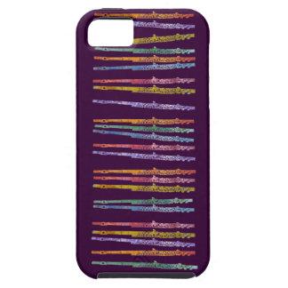 Crayon Flutes iPhone SE/5/5s Case