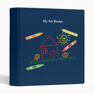 Crayon House Binder