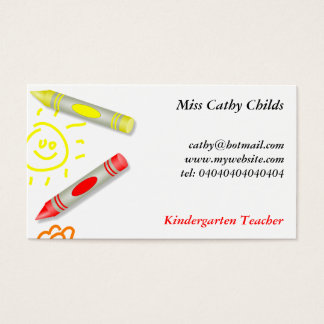 Crayon House, Business Card