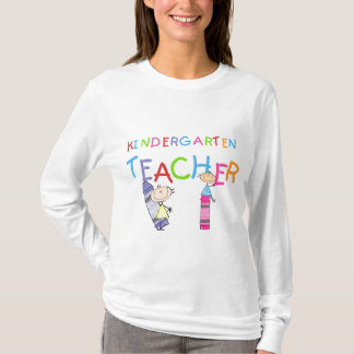 Crayon Kindergarten Teacher Tshirts and Gifts