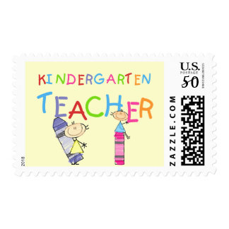 Crayon Kindergarten Teacher Tshirts and Gifts Postage