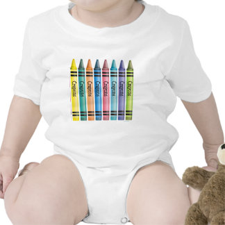 Crayon Line Bodysuits