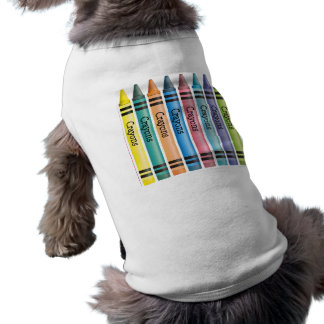 Crayon Line Doggie Tee Shirt