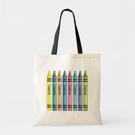Crayon Line Tote Bag