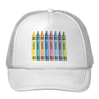 Crayon Line Trucker Hat